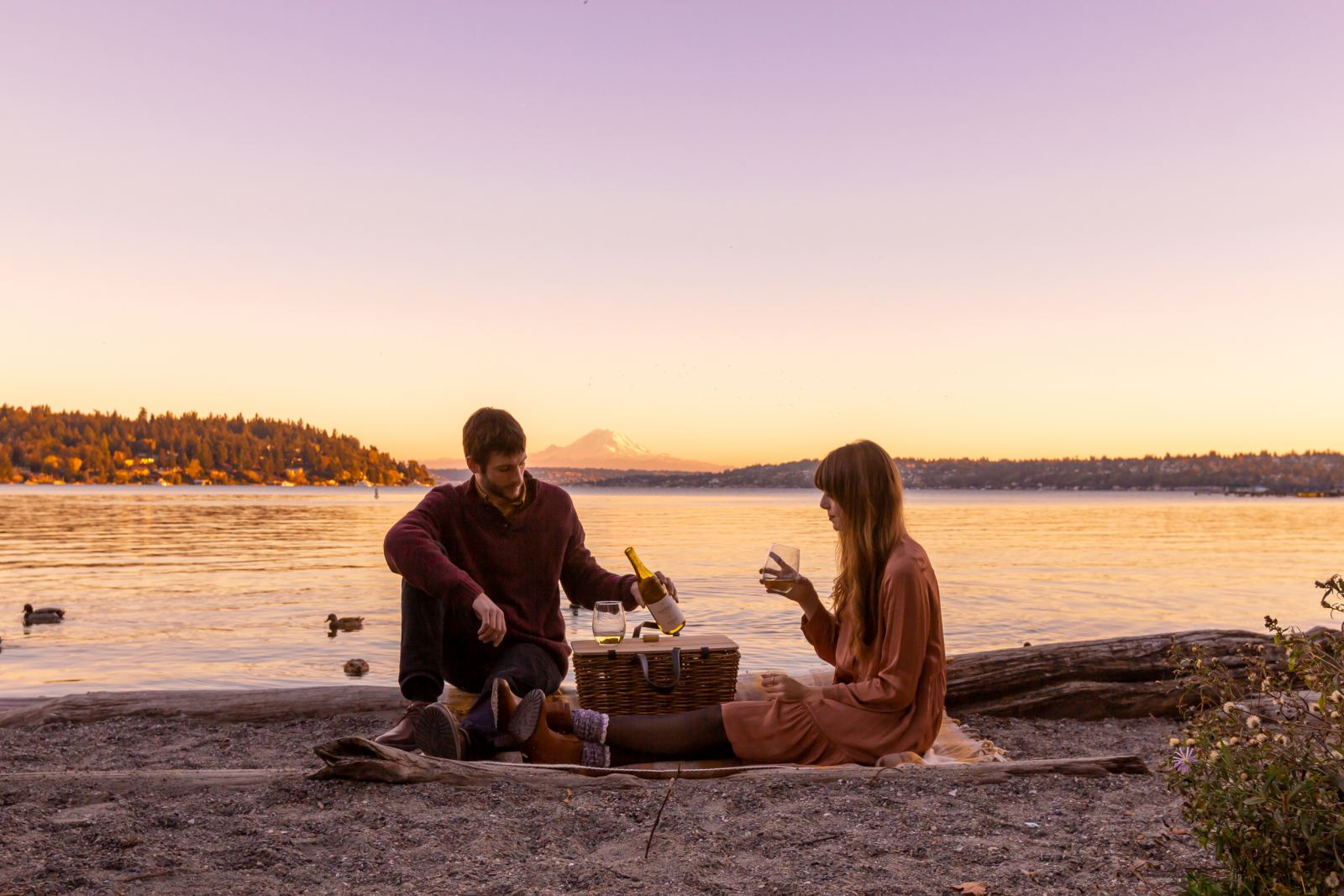 Fall Sunset Picnic