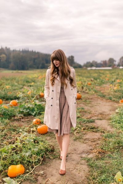 A Fall Essential – Leather Flats