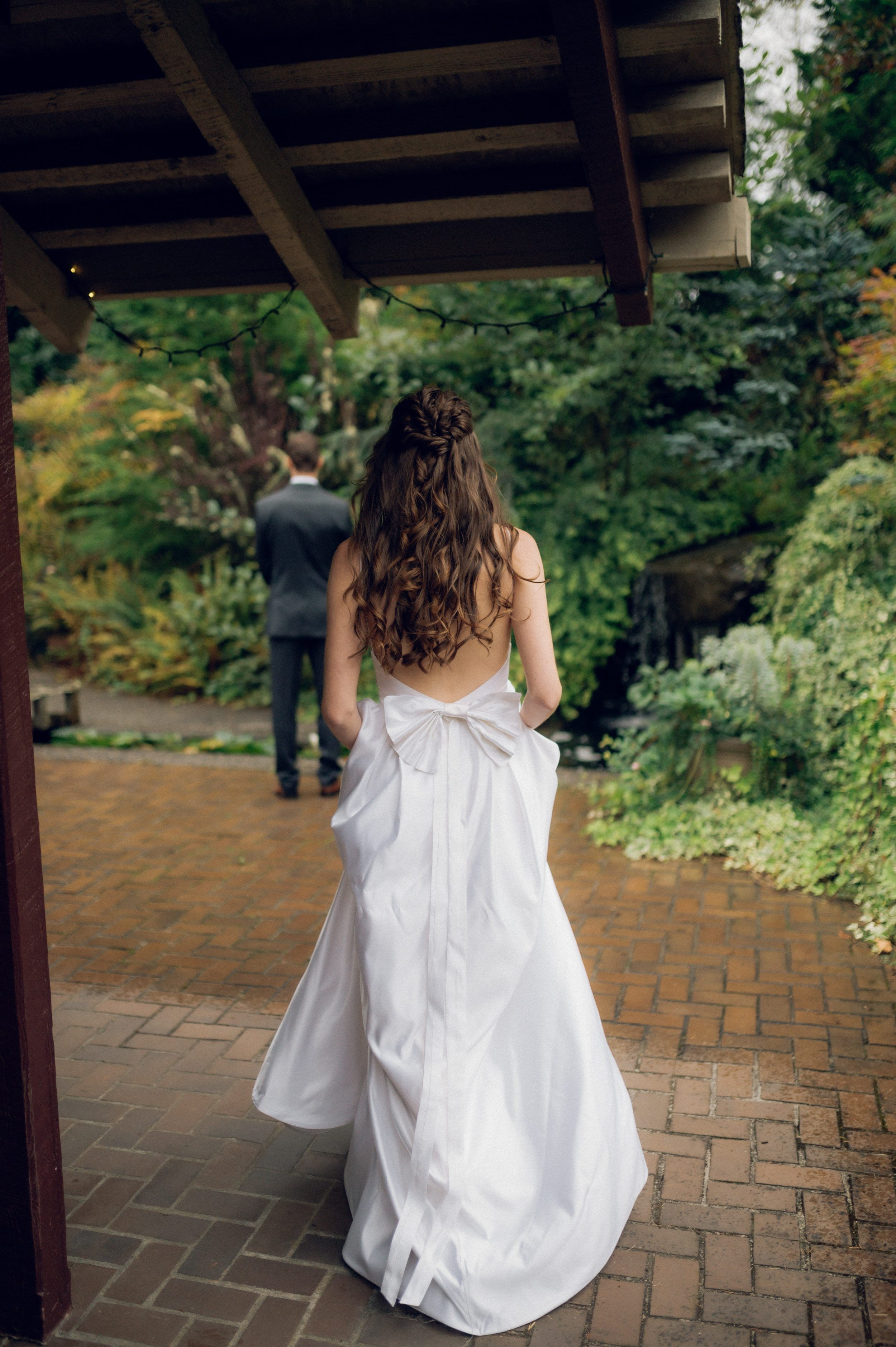 PNW fairytale wedding