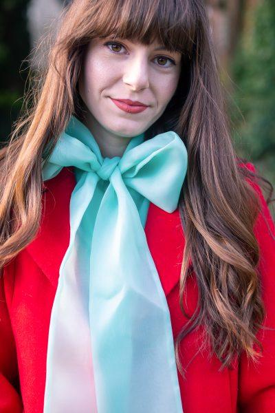 Blue Christmas Outfit Series: I Like Big Bows